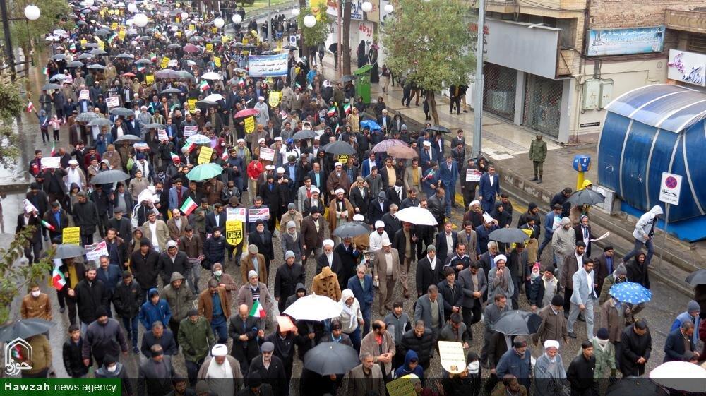 تصاویر/ راهپیمایی مردم کرمان در حمایت از اقتدار و امنیت کشور
