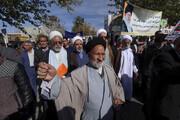 تصاویر/ راهپیمایی مردم بیرجند در حمایت از اقتدار و امنیت کشور