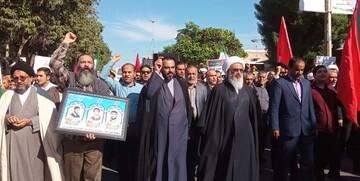 ملت ایران هیچ گاه صحنه دفاع از نظام را خالی نخواهد کرد