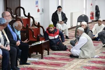 مراسم میان ادیانی «روز درهای باز» در مسجد جامع شفیلد بریتانیا برگزار شد + تصاویر