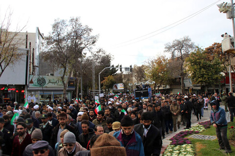 راهپیمایی مردم بجنورد در دفاع از اقتدار و امنیت کشور