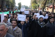 راهپیمایی پر شور مردم کرمانشاه برگزار شد + عکس