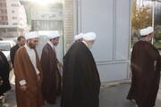 اساتید و طلاب کرمانشاه در محل خدمت «شهید امنیت وطن» حضور یافتند