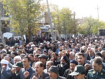 مسیرات في مدن ايرانية عديدة للتنديد بأعمال الشغب