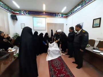 طرح همیاران حجاب و عفافدر کاشان رونمایی شد