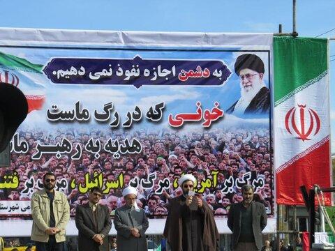 تصاویر/ راهپیمایی مردم کامیاران در حمایت از اقتدار و امنیت کشور