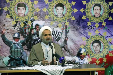 نشست بصیرتی ویژه اغتشاشات اخیر در مدرسه علمیه امام خمینی(ره) بجنورد