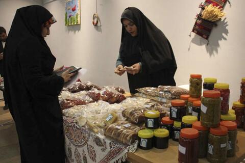 اولین نمایشگاه صنایع دستی و توانمندی های همسران و خانواده روحانیون خراسان جنوبی
