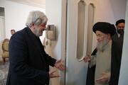 تصاویر / حضور علما و شخصیت های حوزوی در بیت مرحوم آیت الله میرمحمدی