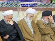 آیین یادبود مرحومه «صدیقه فریدون» در حسینیه شهدای سرخه برگزار شد