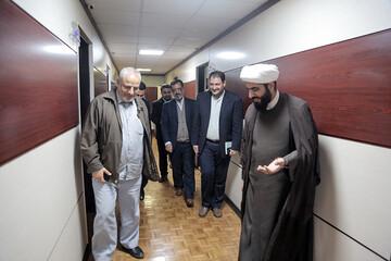 تصاویر/ بازدید هیئت رسانهای حوزه علمیه قم از خبرگزاری فارس