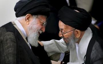 بيان تعزية الإمام الخامنئي إثر رحيل سماحة آية الله السيّد أبوالفضل مير محمّدي