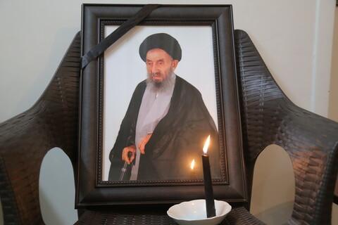 تصاویر / حضور مراجع و علما در بیت مرحوم آیت الله میرمحمدی