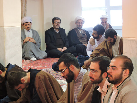 گرامیداشت هفته بسیج در مدرسه علمیه حضرت ولیعصر(عج) تبریز