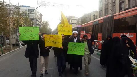 تصاویر/ راهپیمایی باشکوه مردم تهران در حمایت از اقتدار و امنیت کشور