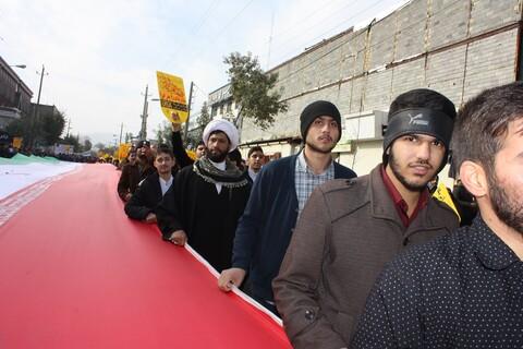 تصاویر/ خروش روحانیت تشیع و اهل سنت کرمانشاه در حمایت از رهبری و دفاع از امنیت و اقتدار کشور