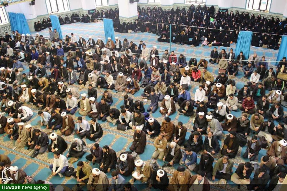 تصاویر/ تجمع طلاب و روحانیون شیراز در حمایت از اقتدار و امنیت کشور