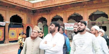 مسجد تاریخی فاتح پوری در هند مرمت میشود