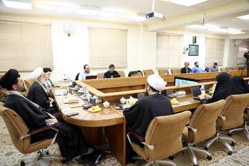 تصاویر/ نشست خبری اجلاسیه منطقه ای جامعه مدرسین حوزه