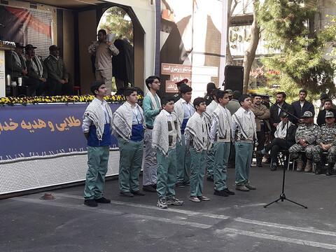 تصاویر/  همایش بسیجیان تبریز