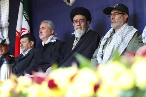 تصاویر حضور نماینده ولی فقیه استان در همایش بسیجیان تبریز