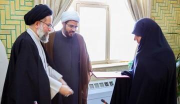 فرمانده ارشد پایگاههای بسیج جامعه الزهرا (س) منصوب شد