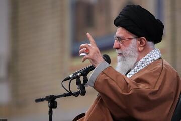 صوت کامل بیانات رهبر انقلاب در دیدار بسیجیان