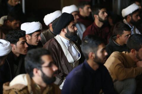 تصاویر/ نشست استاندار خراسان شمالی با طلاب و روحانیون