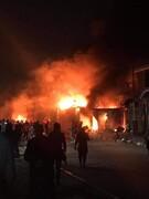 حمله اغتشاشگران به کنسولگری ایران در نجف