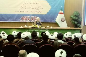 آماده استفاده از ظرفیت طلاب استان گلستان در بسیج هستیم