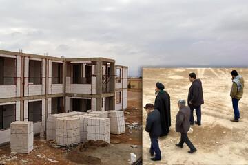 بازدید معاون منابع انسانی و پشتیبانی حوزه علمیه استان یزد از پروژه عمرانی حوزه علمیه میبد