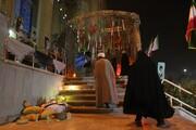 تصاویر/ یادواره شهدای روحانی و طلبه منطقه رفسنجان و انار در قم