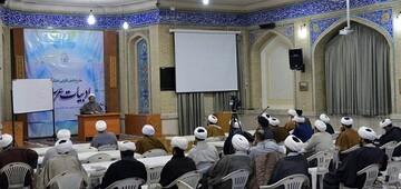 کارگاه توانمندسازی اساتید ادبیات عرب حوزه علمیه خراسان برگزار شد
