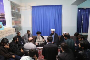 تصاویر / دیدار اعضای مجمع الذاکرین یارباب (س) استان تهران با حضرت آیت الله علوی گرگانی