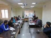 تصاویر/ کارگاه آموزشی مقدماتی مهارت رسانه ای در سمنان-۲