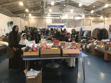 مسجد لانکشایر انگلستان به دانشجویان آسیب دیده در آتش سوزی کمک کرد