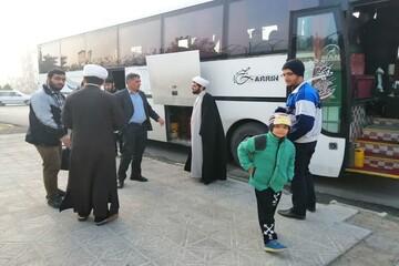 طلاب و اساتید مدرسه اسلام آباد غرب به اردوی مشهد اعزام شدند
