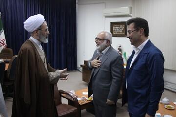 تصاویر/ دیدار رئیس کمیته امداد امام خمینی(ره) با آیت الله اعرافی