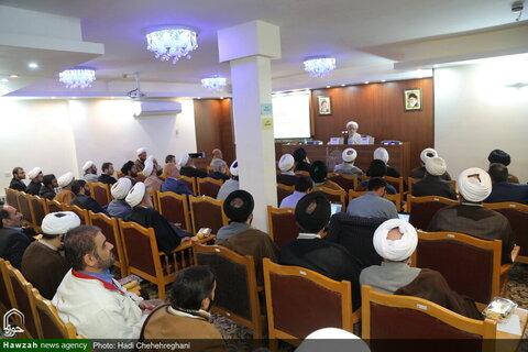 بالصور/ إزاحة الستار عن التراث التفسيري للشهيد قاضي نور الله التستري بقم المقدسة