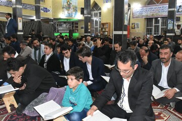 تصاویر محفل انس با قرآن شهرستان سراب