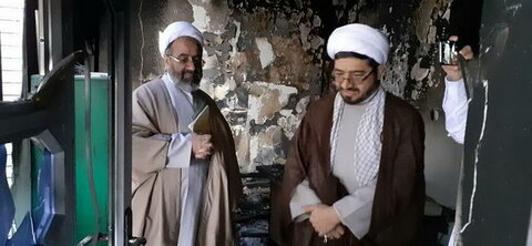 بازدید حجت الاسلام والمسلمین محمود ملک دار از حوزه علمیه یزدانشهر