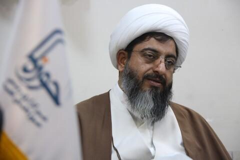 تصاویر بازدید امام جمعه هشتگرد از خبرگزاری حوزه