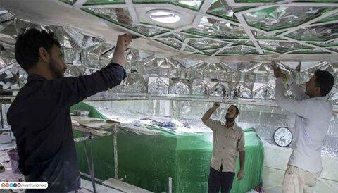 سرداب الشهداء المجاور لضريح الامام الحسين (ع)