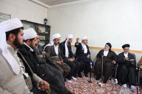 بالصور/ ندوة لأئمة جمعة أهل السنة لمحافظة كرمانشاه الإيرانية غرب البلاد