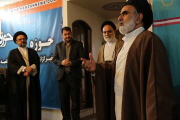 تصاویر/ بازدید رئیس مرکز خدمات حوزه های علمیه از رسانه رسمی حوزه