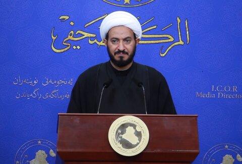 شیخ صباح الساعدی عضو فراکسیون السائرون عراق
