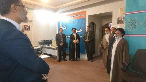 بازدید حجت الاسلام والمسلمین ربانی از خبرگزاری حوزه