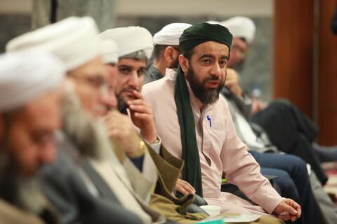 تصایر دیدار علمای اهل سنت با آیت الله اعرافی