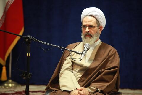 دیدار جمعی از شخصیتهای  اهل سنت استان گلستان با آیت الله اعرافی