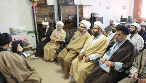 معارفه رئیس جدید بسیج طلاب و روحانیون